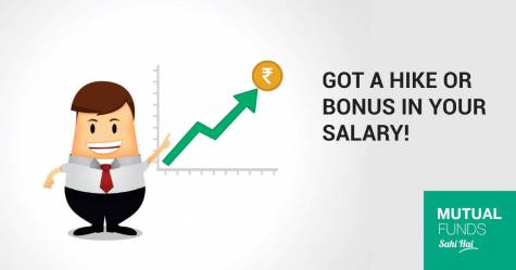 Hike or Bonus in Salary