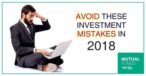 Mutual Fund Investment Mistakes 2018